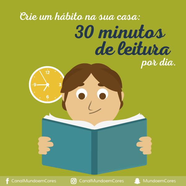 Crie o hábito da leitura com a criança