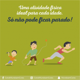Qual é a atividade física ideal para cada idade