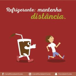 Refrigerante: mantenha distância