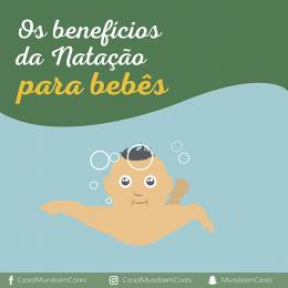 Os benefícios da natação para bebês