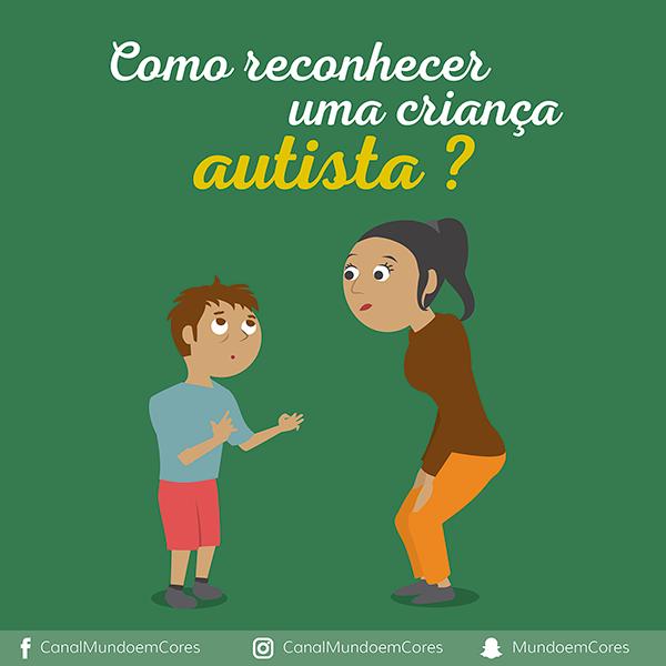 Como reconhecer uma criança autista?