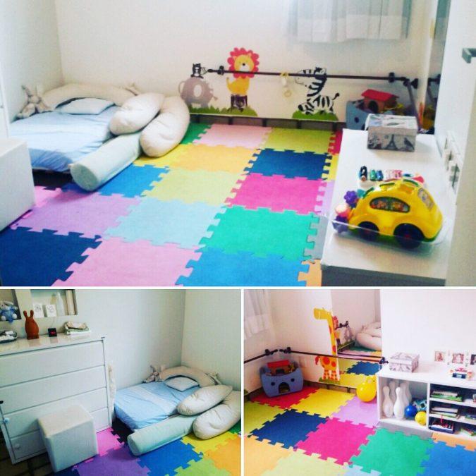 Como é um quarto Montessoriano?