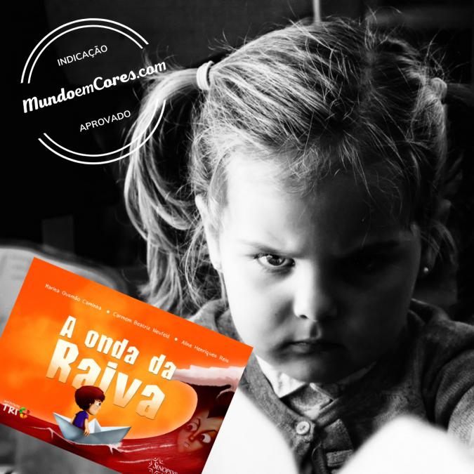 Dica de leitura para crianças sobre a raiva