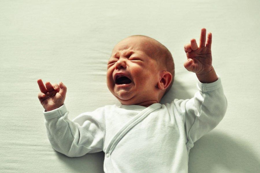 Os tipos de choro do bebê