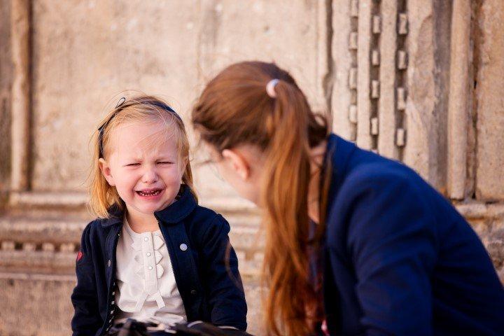 O adulto precisa ser empático com a criança nos momentos de descontrole