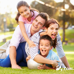 A importância do carinho para as crianças
