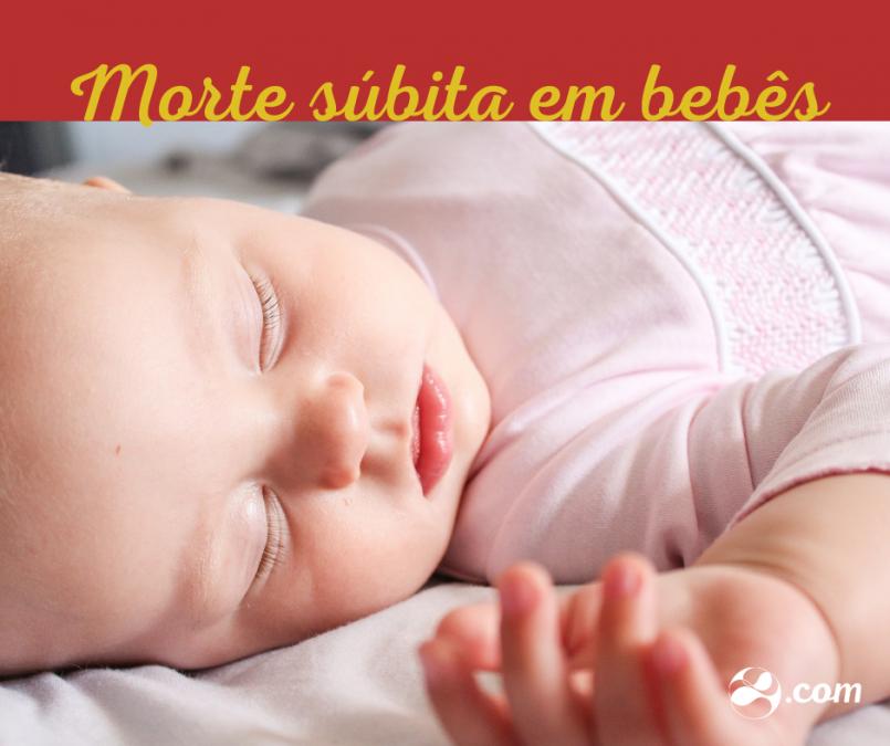 Dormir de barriga para cima evita a morte súbita em bebês