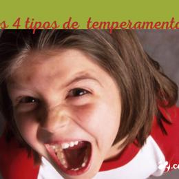 Os quatro tipos de temperamento