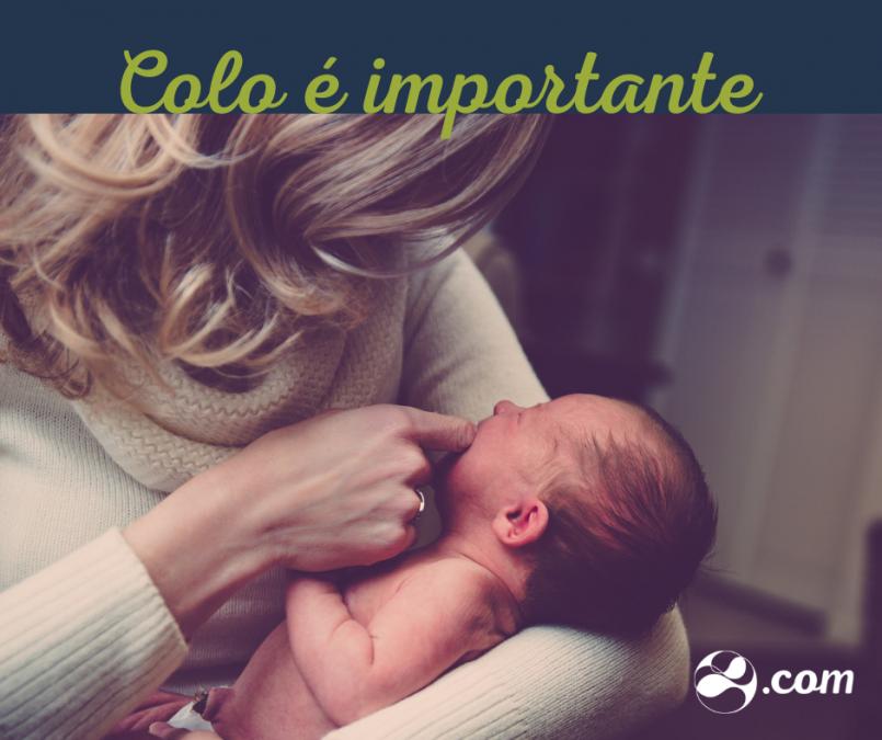 Bebês têm necessidade de colo e isso já foi comprovado em pesquisas.