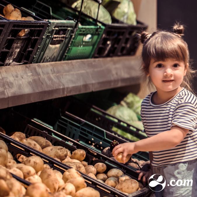Como lidar com a criança no supermercado